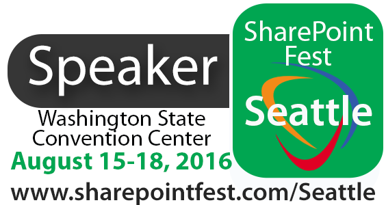 SharePoint Fest Seattle 2016