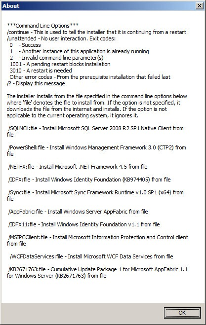 Installing SharePoint 2013 Prerequisites Without an Internet
