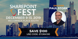 SharePoint Fest Chicago 2019